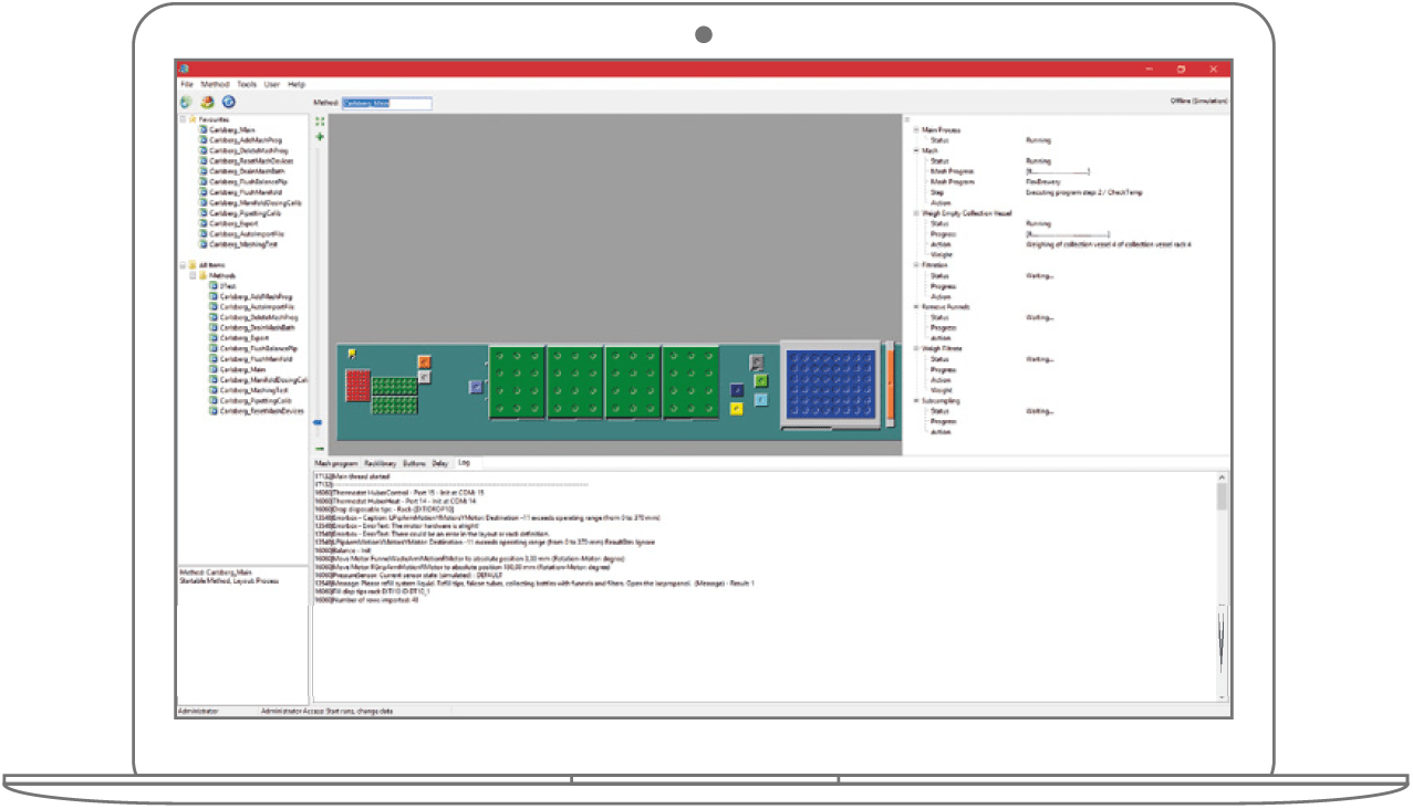 WinLissy Lab Automation Software - ZA Layouter Module - Preview